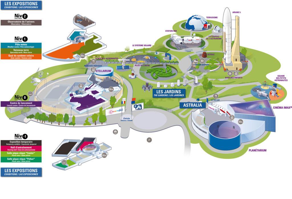 Plan Cité de l'Espace