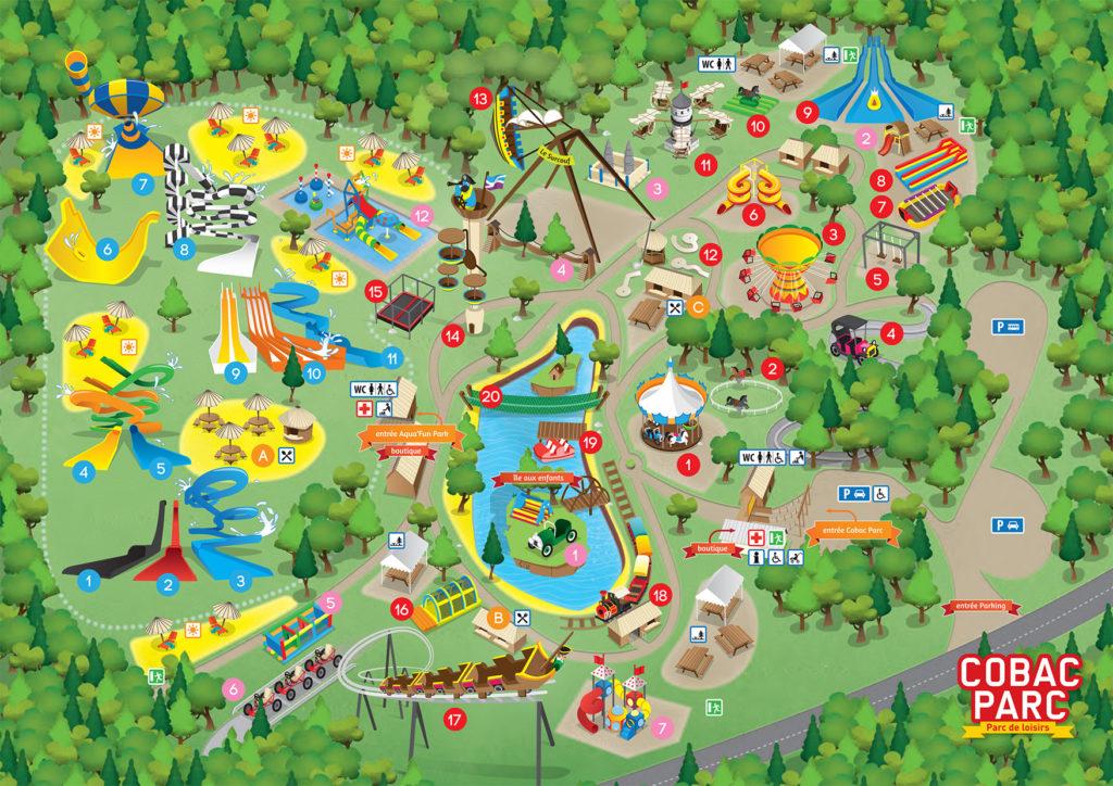 Plan Cobac Parc