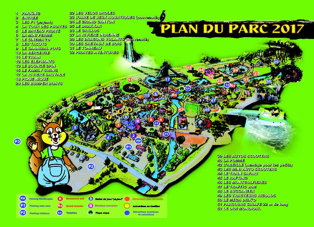 Plan Parc Didiland