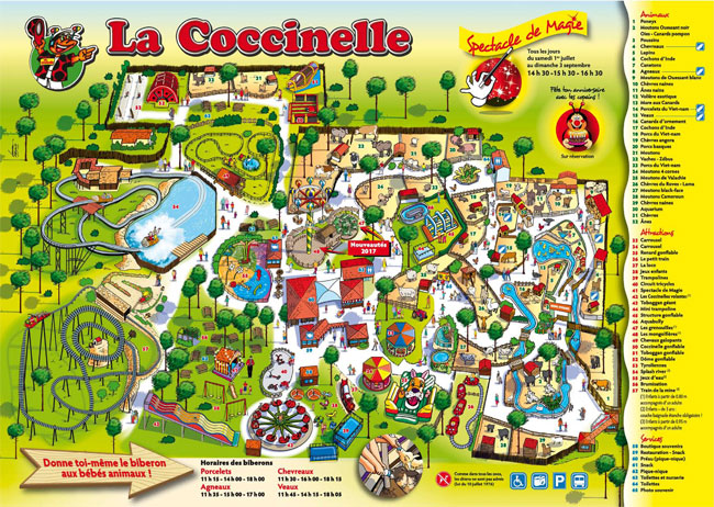 Plan parc La Coccinelle
