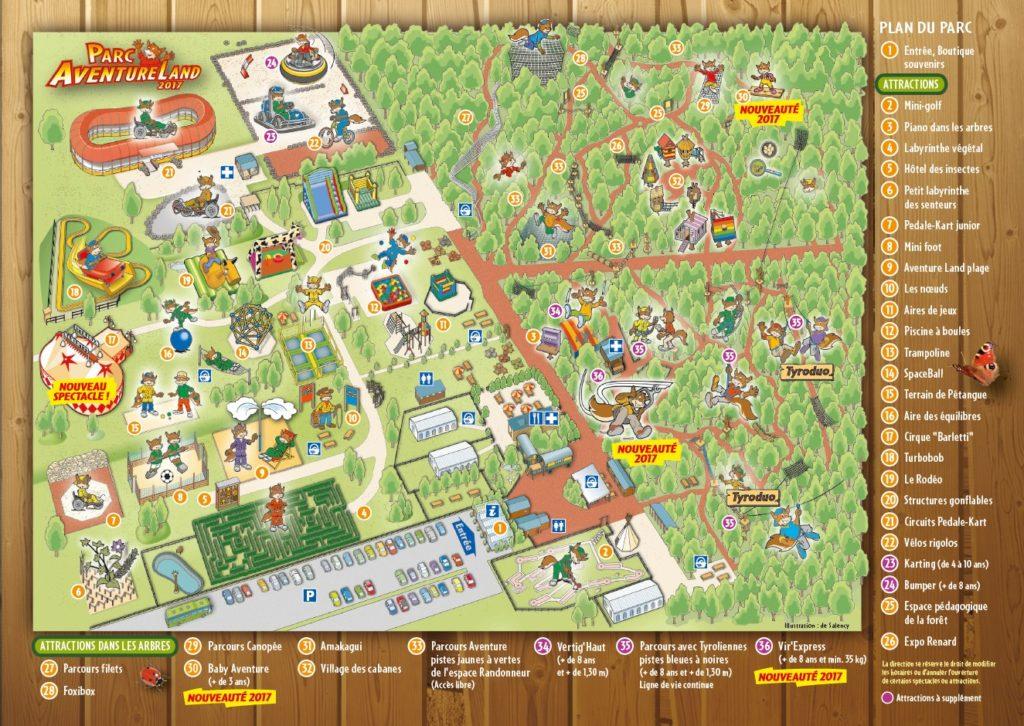 Plan Aventure Land