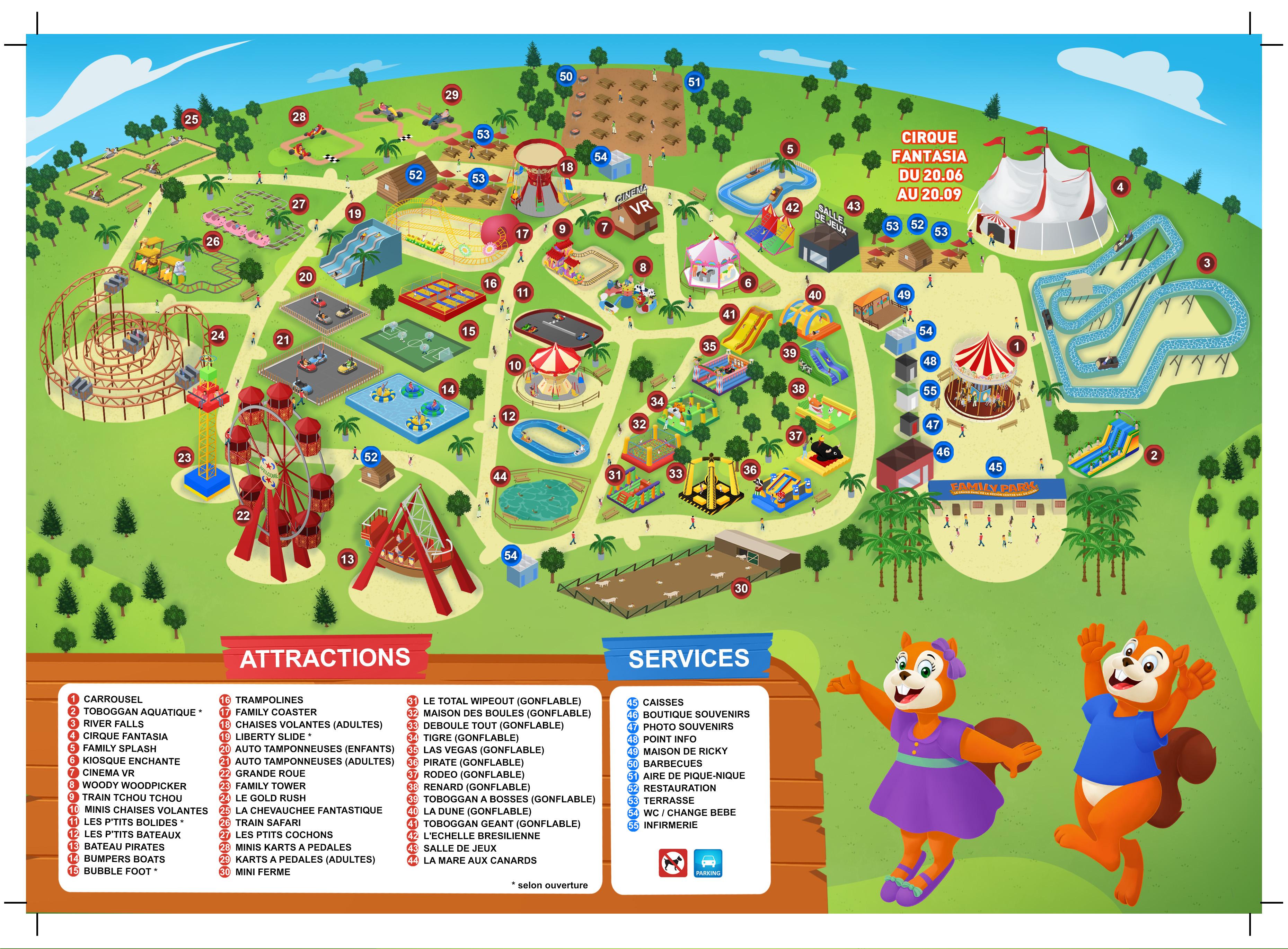 Plan Family Park