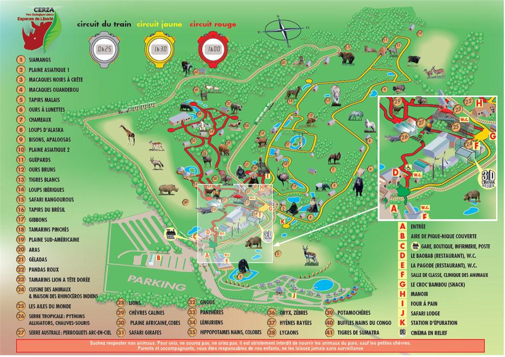 Plan Zoo de cerza