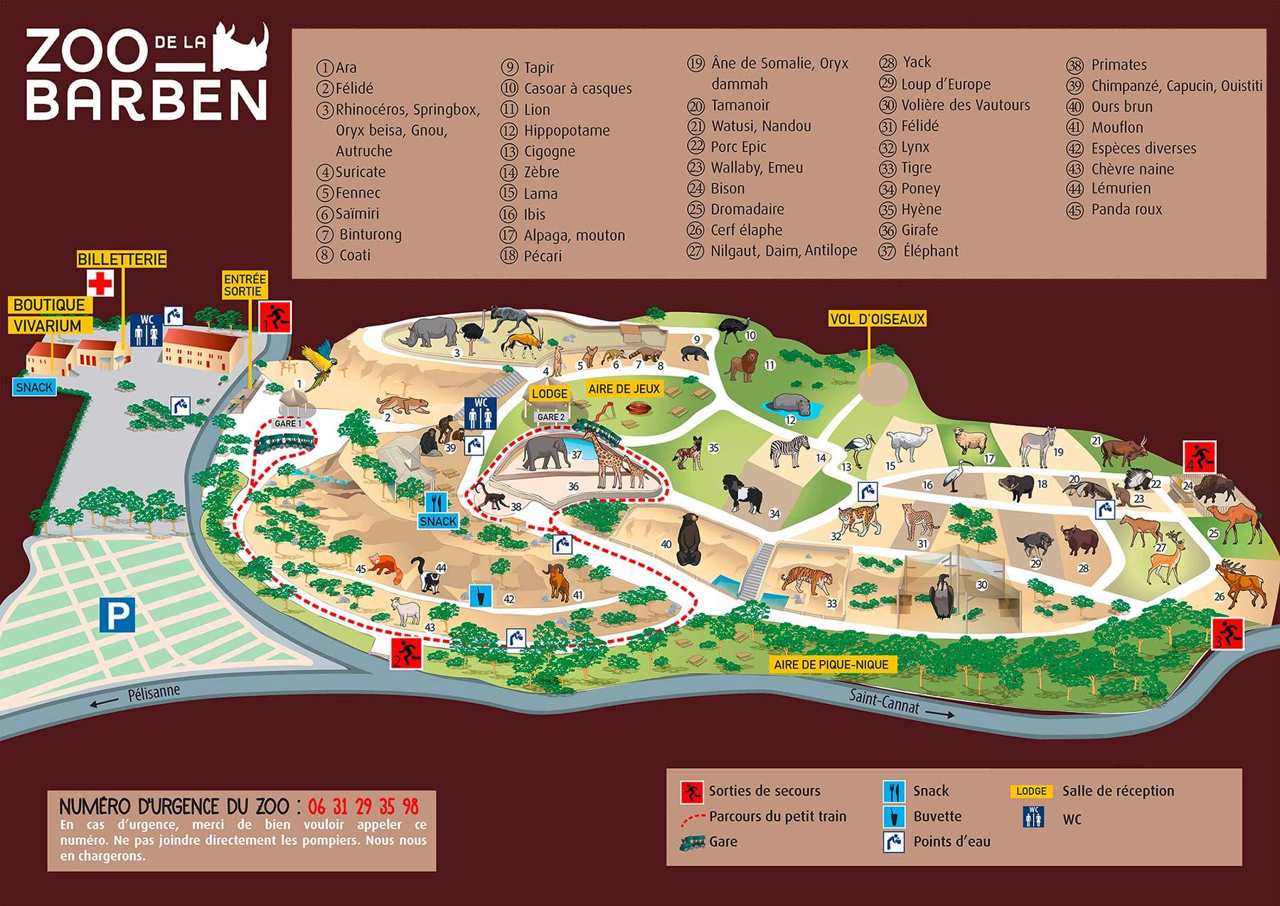 zoo de la barben guide et infos pratiques animaux
