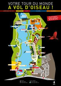 Plan parc des oiseaux