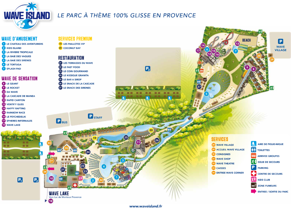 Wave Island Plan
