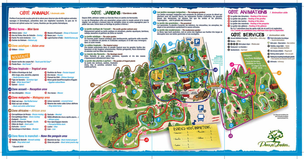 Plan Zoo de Champrepus